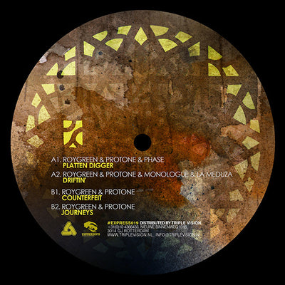 RoyGreen & Protone - Platten Digger EP - Unearthed Sounds, Vinyl, Record Store, Vinyl Records