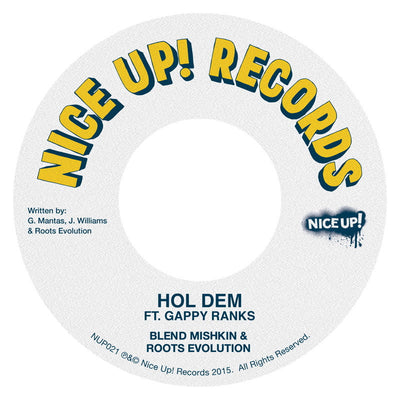 Blend Mishkin & Roots Evolution ft. Gappy Ranks - Hol Dem - Unearthed Sounds, Vinyl, Record Store, Vinyl Records
