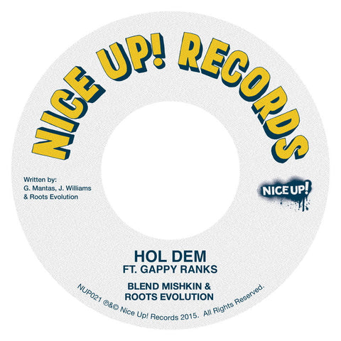 Blend Mishkin & Roots Evolution ft. Gappy Ranks - Hol Dem