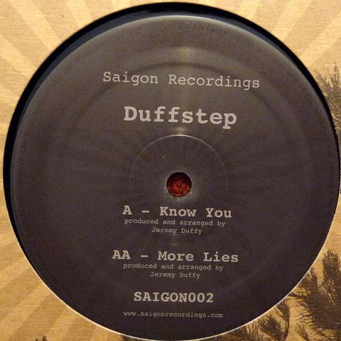 Duffstep - Know You / More Lies