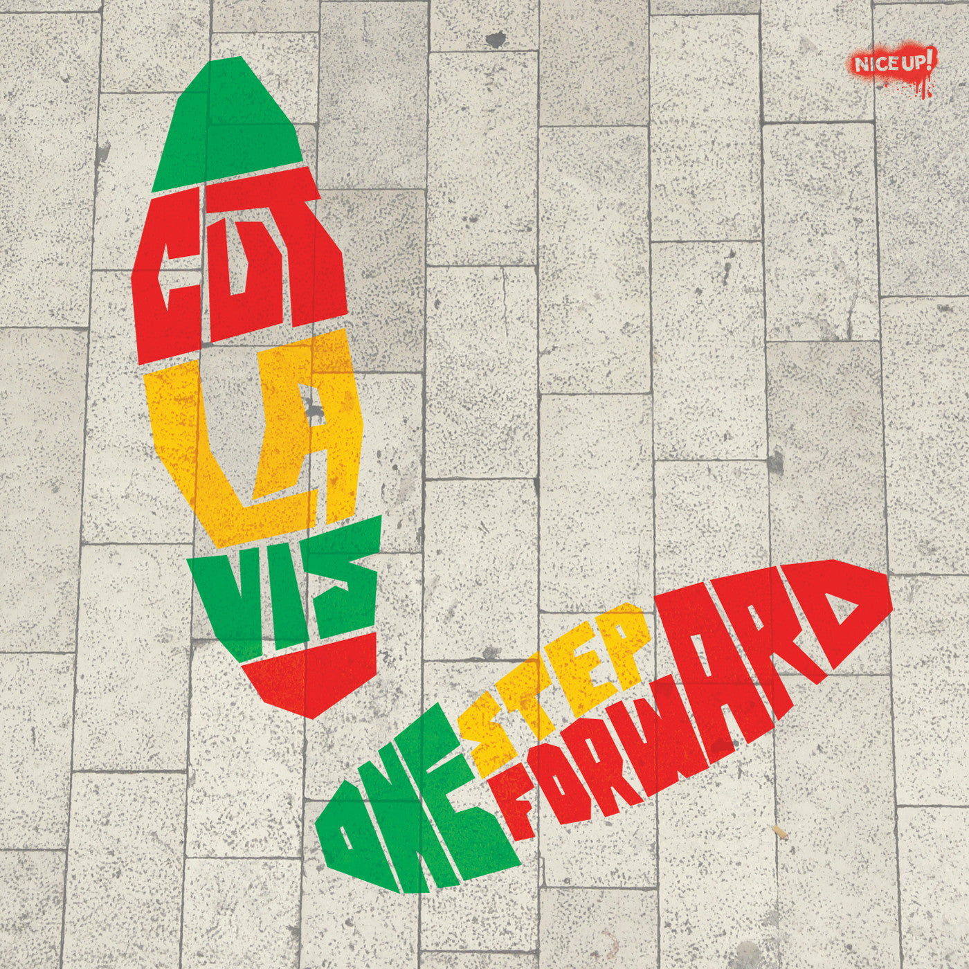 Cut La Vis - One Step Forward LP - Unearthed Sounds