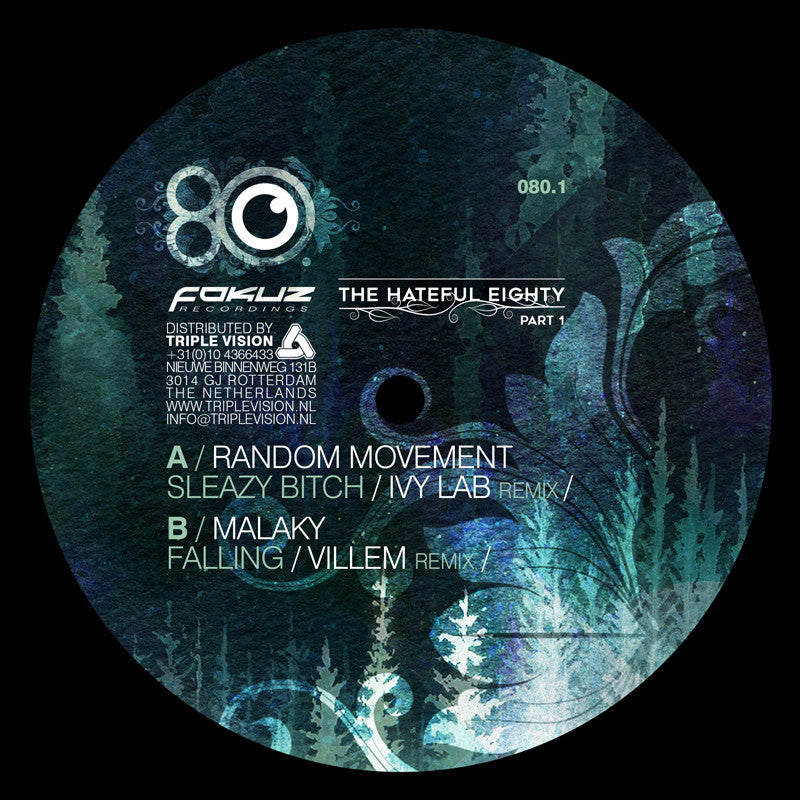 Random Movement (Ivy Lab Remix) / Malaky (Villem Remix) - Hateful Eighty Pt 1 - Unearthed Sounds
