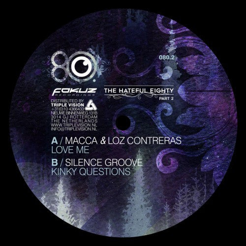 Macca & Loz Contreras / Silence Groove - Hateful Eighty Pt 2 - Unearthed Sounds