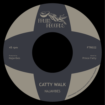 "Najavibes - Catty Walk // Insecurity [7"" Vinyl] - Unearthed Sounds"