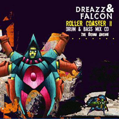 DJ Mix Dreazz - Roller Coaster II - The Citrus Edition [CD Album] - Unearthed Sounds