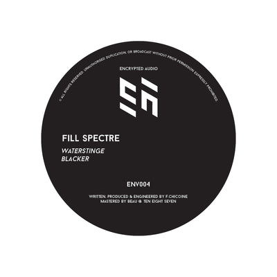 Fill Spectre - Blacker / Waterstinge - Unearthed Sounds