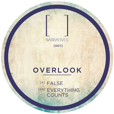 Overlook - False / Everything Counts - Unearthed Sounds, Vinyl, Record Store, Vinyl Records