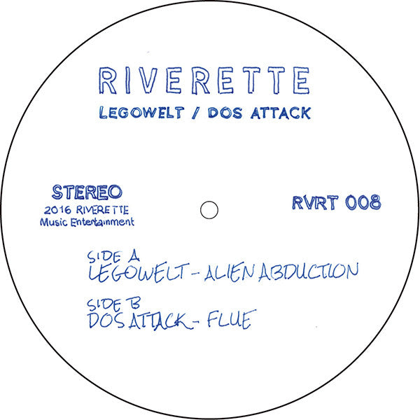 Legowelt / Dos Attack - Alien Abduction / Flue - Unearthed Sounds