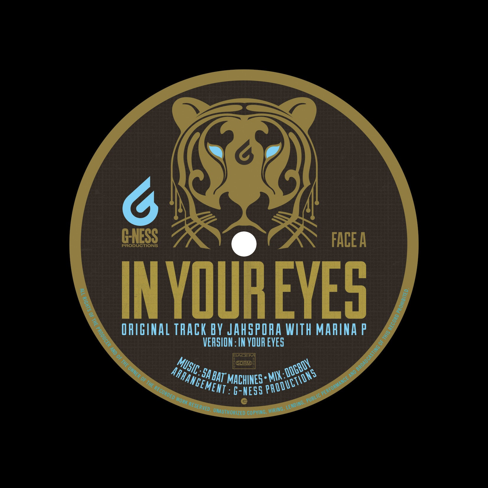 Marina P, Murray Man, Sa Bat' Machines - In Your Eyes / Girl Next Door - Unearthed Sounds