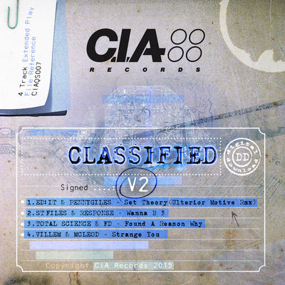 C.I.A Records - Classified V2 EP - Unearthed Sounds