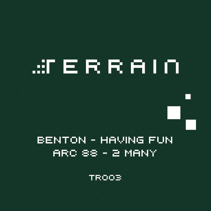 Benton / Arc 88 ‎- Having Fun / 2 Many - Unearthed Sounds