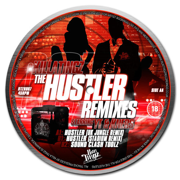 Killa Tingz (ft. YT & K*Ners) ‎– The Hustler (UK Jungle Remix) - Unearthed Sounds