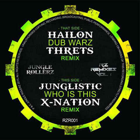 Hailon / Junglistic – RZ Remixes Vol 1