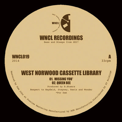 West Norwood Cassette Library ‎– Missing You - Unearthed Sounds