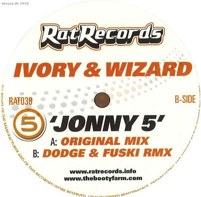 Ivory & Wizard - Johnny 5 - Unearthed Sounds