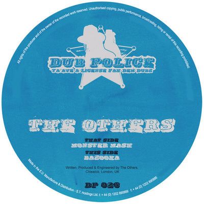 The Others - Monster Mash / Bazooka , Vinyl - Dub Police, Unearthed Sounds