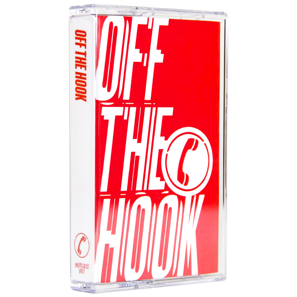 Off The Hook - 2 Years of Hotline Recordings [Cassette w/ DL Code] - Unearthed Sounds
