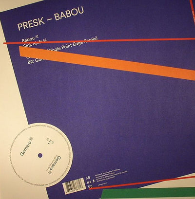 Presk - Babou EP - Unearthed Sounds