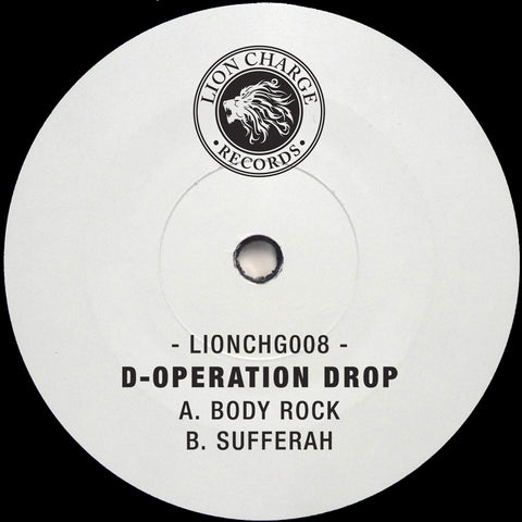D-Operation Drop - Body Rock / Sufferah