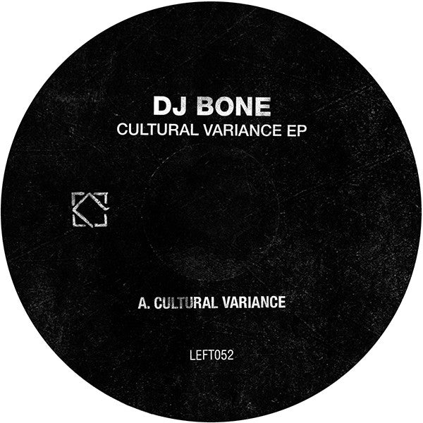 DJ Bone - Cultural Variance - Unearthed Sounds