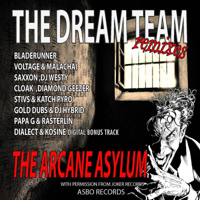 "The Dream Team - The Joker Project Vol 2, Arcane Asylum [3x12"" Vinyl] , Vinyl - Asbo Records, Unearthed Sounds"