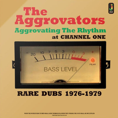"The Aggrovators ‎- Aggrovating The Rhythm At Channel One - Rare Dubs 1976-1979 [12"" Vinyl LP] - Unearthed Sounds"