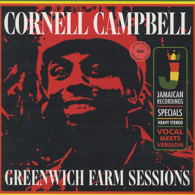 "Cornell Campbell ‎- Greenwich Farm Sessions [Coloured 12"" Vinyl LP] - Unearthed Sounds"