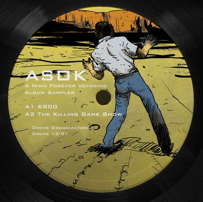 ASOK - A Mind Forever Voyaging LP Sampler - Unearthed Sounds