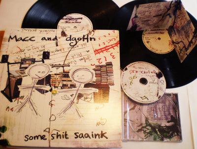 Macc & dgoHn - Some Shit Saaink - Unearthed Sounds, Vinyl, Record Store, Vinyl Records