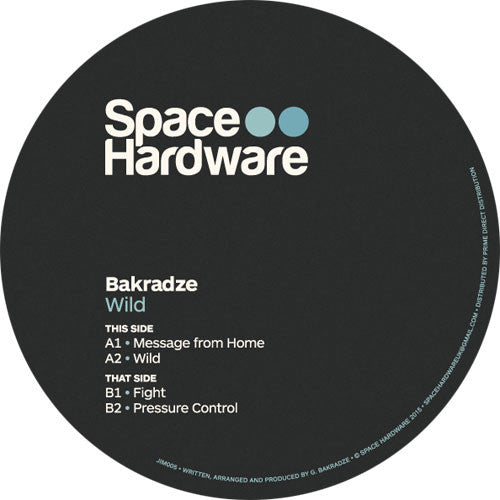 Bakradze - Message From Home - Unearthed Sounds