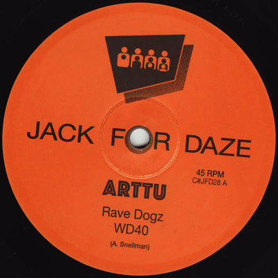 Arttu - Rave Dogz - Unearthed Sounds