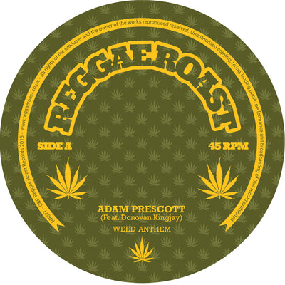 Adam Prescott - Weed Anthem - Unearthed Sounds