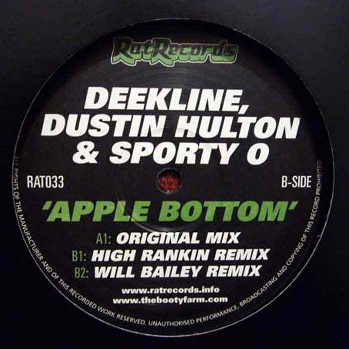 Deekline - Apple Bottom - Unearthed Sounds