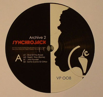 Synchrojack - Archive 2 - Unearthed Sounds, Vinyl, Record Store, Vinyl Records