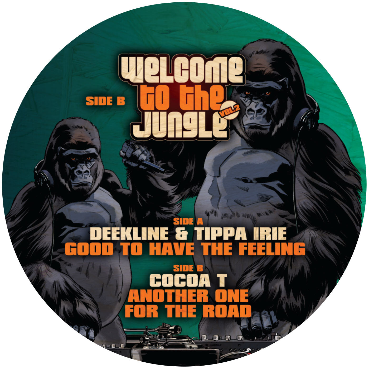 Welcome to the Jungle Vol 2 - Sampler One - Unearthed Sounds
