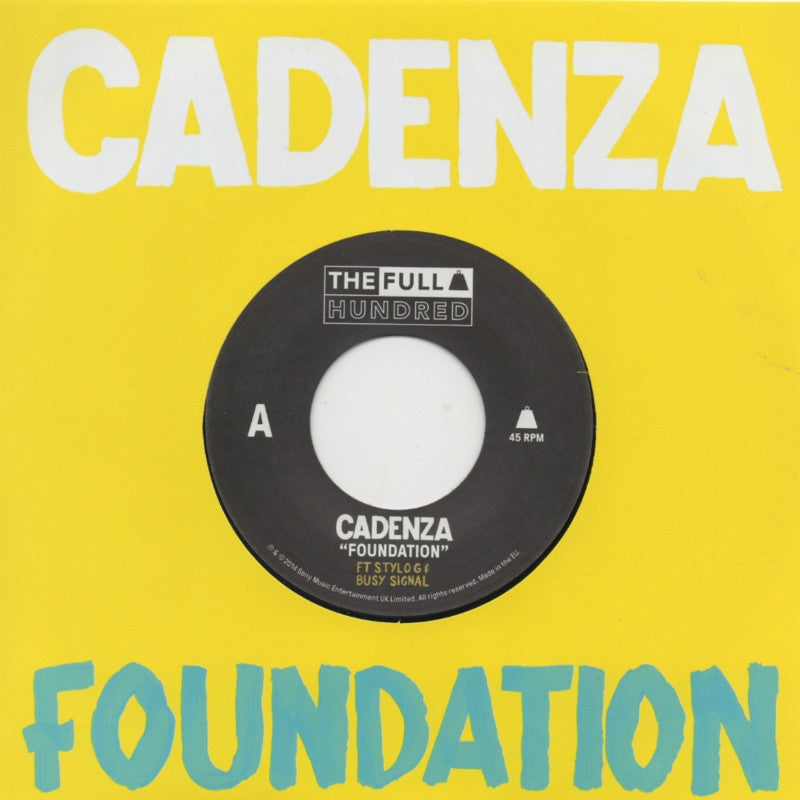 Cadenza Feat. Stylo G & Busy Signal ‎– Foundation - Unearthed Sounds