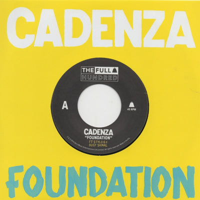 Cadenza Feat. Stylo G & Busy Signal ‎– Foundation - Unearthed Sounds, Vinyl, Record Store, Vinyl Records