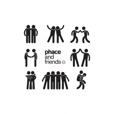 Phace - Phace & Friends EP [w/ Free 320k Mp3's]