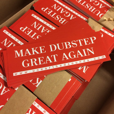 Make Dubstep Great Again - Sticker Pack x15 #MDGA - Unearthed Sounds