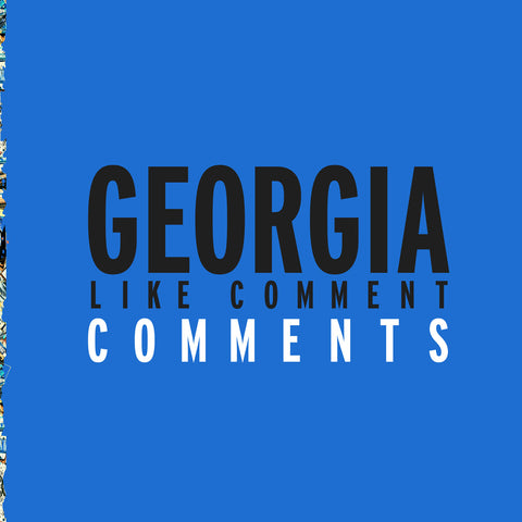 Georgia - Like Comment Comments by Afrikan Sciences, Thomas Bullock, Bryce Hackford & RVNG Intl.