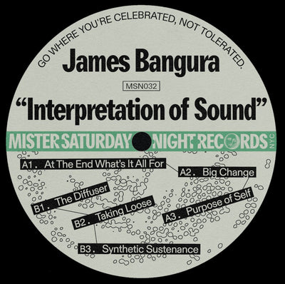 James Bangura - Interpretation of Sound - Unearthed Sounds