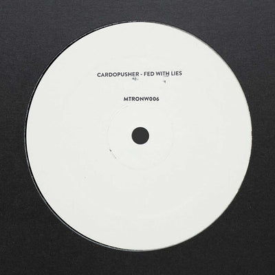 "Cardopusher - Fed With Lies [Hand-stamped 12"" Vinyl] - Unearthed Sounds"