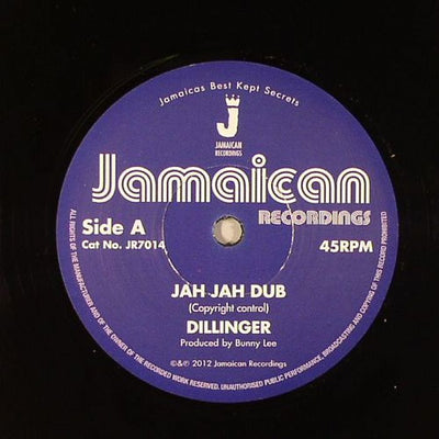 "Dillinger, King Tubby & The Aggrovators - Jah Jah Dub [7"" Vinyl] - Unearthed Sounds, Vinyl, Record Store, Vinyl Records"