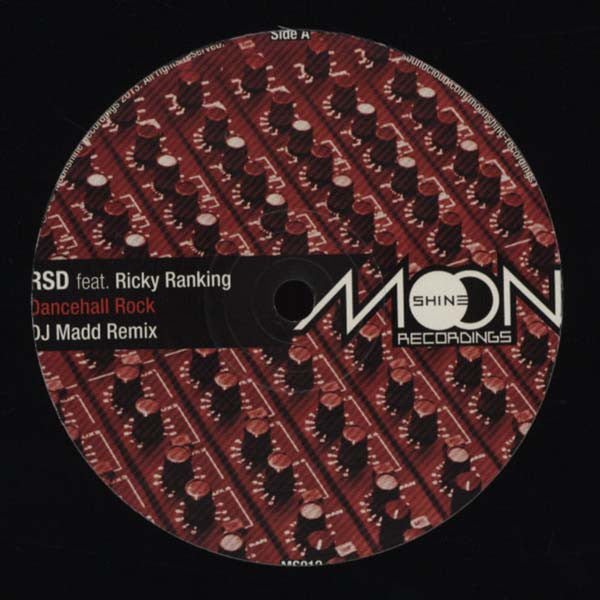 RSD ft Ricky Ranking ‎'Dancehall Rock Remixed' - Unearthed Sounds