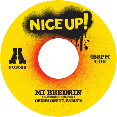 Mi Bredrin - Origin One (feat. Parly B) - Unearthed Sounds, Vinyl, Record Store, Vinyl Records