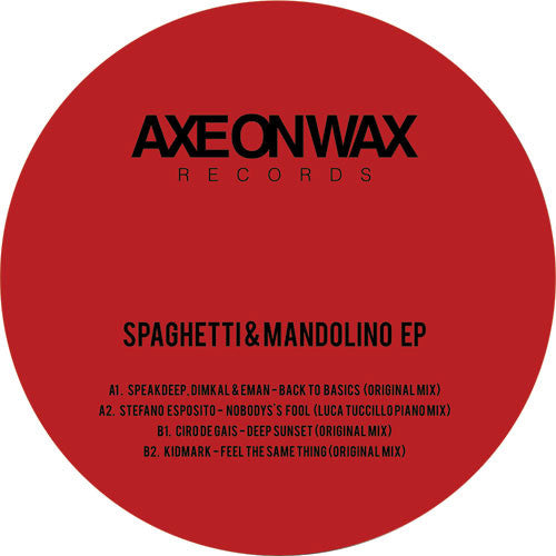 Various Artists - Spaghetti & Mandolino - Unearthed Sounds