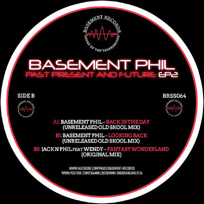 Basement Phil - Past, Present & Future EP 2 - Unearthed Sounds, Vinyl, Record Store, Vinyl Records