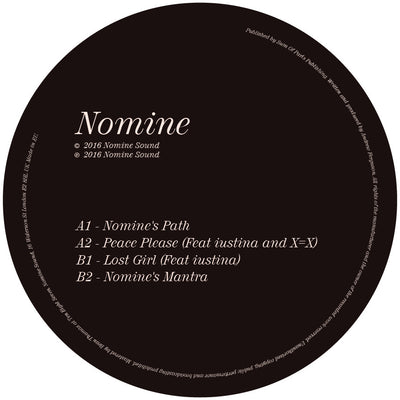 Nomine - Path / Peace / Lost / Mantra - Unearthed Sounds