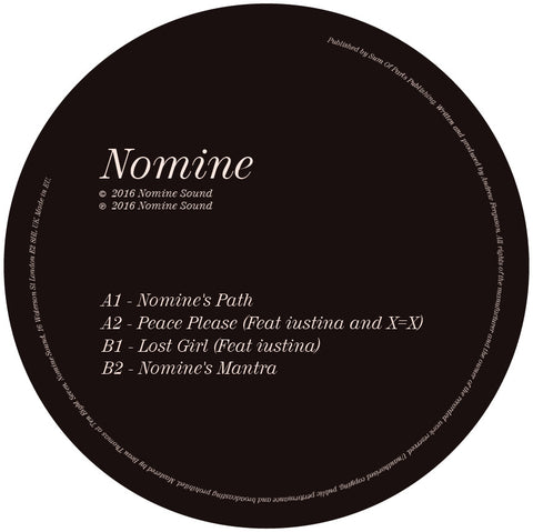 Nomine - Path / Peace / Lost / Mantra