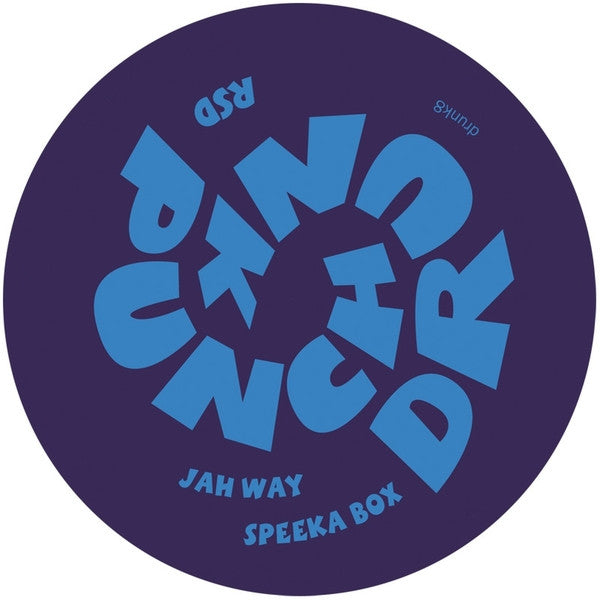 RSD - Jah Way / Speeka Box [Repress] , Vinyl - Punch Drunk, Unearthed Sounds